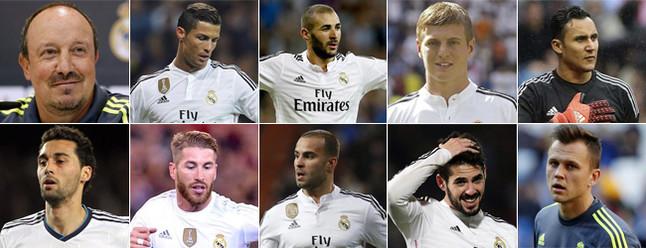 Las diez bajas que quiere dar Florentino P�rez en el Real Madrid
