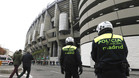 Gran despliegue policial en el Madrid-Manchester City