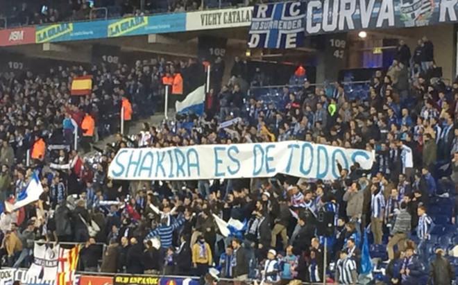 Las pancartas ofensivas en Cornell� fueron sancionadas con una multa econ�mica al Espanyol