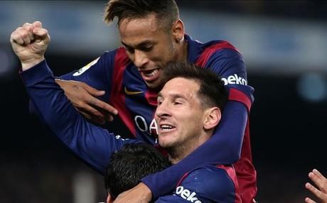 Messi conf�a en la clasificaci�n del Bar�a ma�ana ante el Atl�tico de Madrid y avanzar a las semifinales