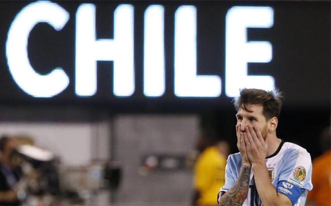 Messi, en la final de la Copa Am�rica