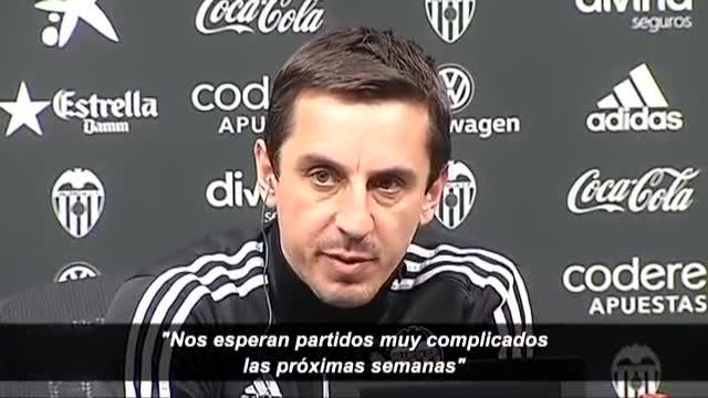 Neville: Tenemos que mantener la calma