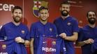 Piqué se ha mostrado encantado con la renovación de Messi