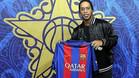 Ronaldinho disfruta del All Star como embajador del FC Barcelona