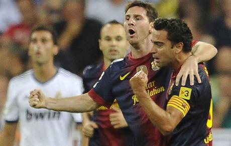 Messi y Xavi pueden mejorar sus números este domingo