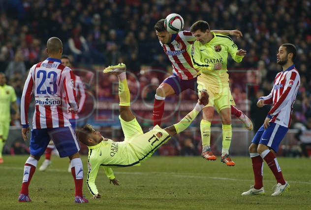 صور : مباراة أتليتيكو مدريد - برشلونة 2-3 ( 28-01-2015 )  1422483240698