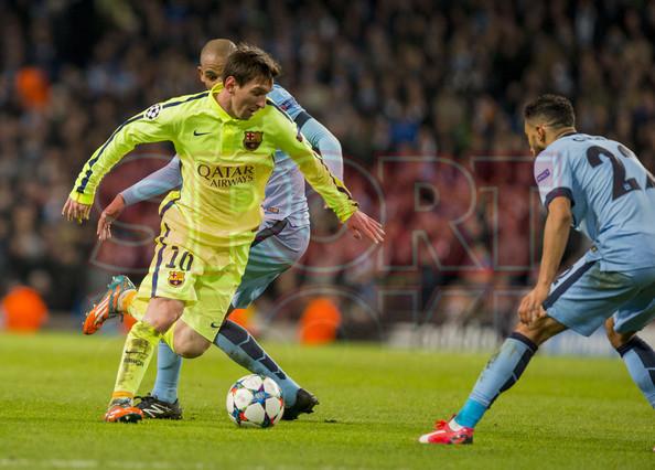 صور : مباراة مانشستر سيتي - برشلونة 1-2 ( 24-02-2015 )  1424816411698
