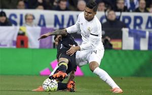 Casemiro espera asaltar el Camp Nou en el Clásico