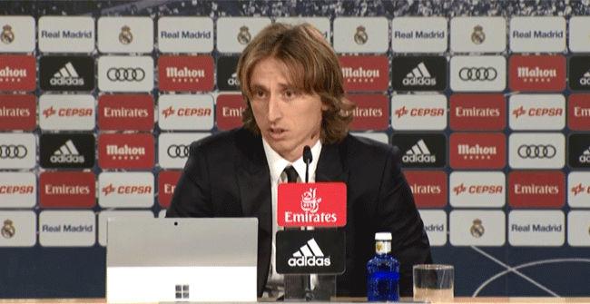 Modric: Nuestra prioridad es ganar la Liga este año