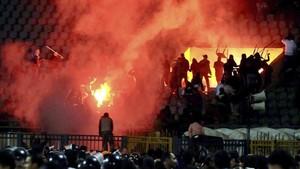 Uno de los peores episodios vividos en un campo de fútbol