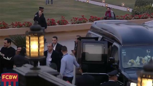 Dispositivo extremo de seguridad para Messi en Egipto
