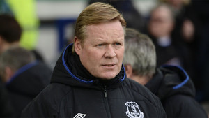 Ronald Koeman, mánager del Everton de la Premier League
