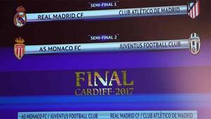 Estas son las semifinales de la Champions League 2016 / 2017