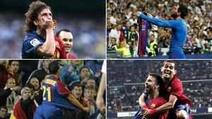 Cutaro celebraciones históricas en el Bernabéu