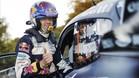 Ogier antes de subirse a su vehículo en Argentina