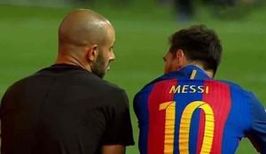 Messi se quedó junto a Mascherano
