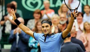 Roger Federer ya está en la final de Halle