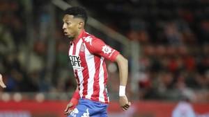 El futbolista colombiano reforzará el carril izquiero del equipo de Machín