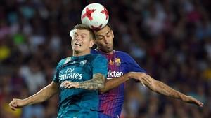 Sergio, pugnando con Kovacic