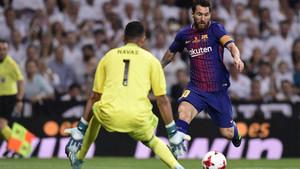 Leo Messi está a un gol de los 350 en Liga. Histórico