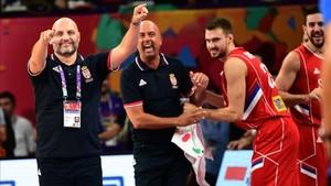 Sasha Djordjevic ha llevado a Serbia a la final del Eurobasket