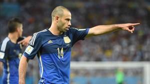 Mascherano confirmó su retirada de la selección tras el Mundial