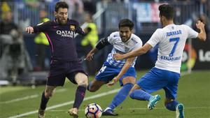 El FC Barcelona - Málaga enfrenta al líder con el colista de la Liga