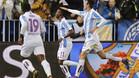 Atsu debut� con gol en el M�laga