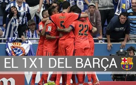 El Bar�a logr� tres puntos claves ante el Espanyol