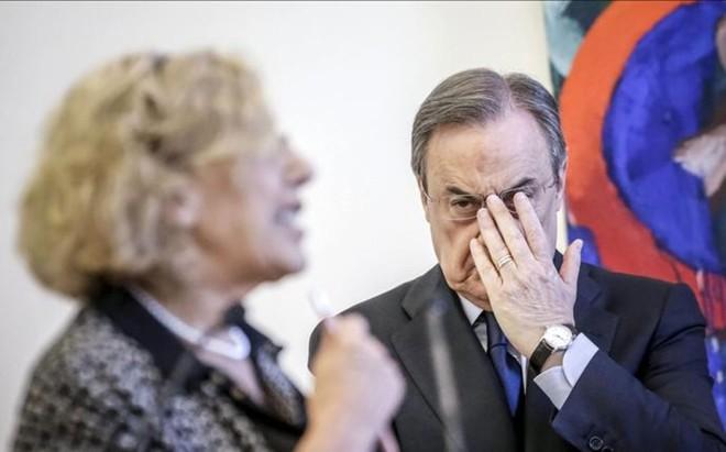 Carmena ha exigido la devoluci�n a la entidad que preside Florentino P�rez