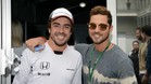 Fernando Alonso y David Bisbal
