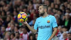 Jordi Alba ha mejorado su rendimiento