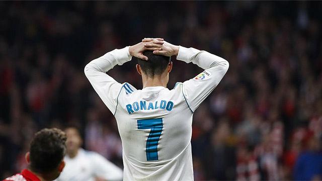 LALIGA   Atlético Madrid - Real Madrid (0-0): Los fallos de Cristiano Ronaldo