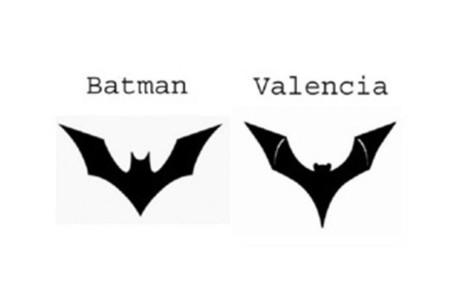 Los murci�lagos del Valencia y de DC Comics