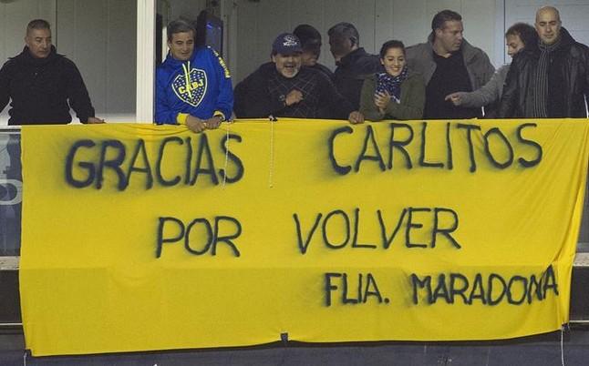 Maradona hoy te pido Perdon
