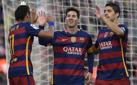 Messi volver� a formar tridente de ataque con Neymar y Su�rez