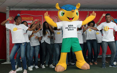 Presentada la mascota del Mundial 2014 de Brasil