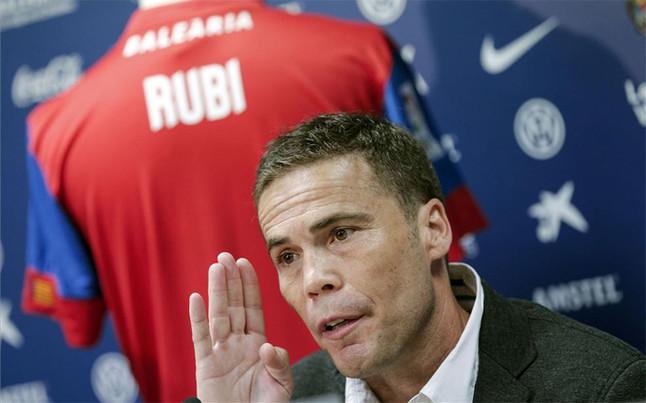 """Rubi: """"Pensar que no puedes sumar contra el Real Madrid es ser un perdedor"""""""