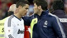 Cristiano fue expulsado por su choque con Gabi