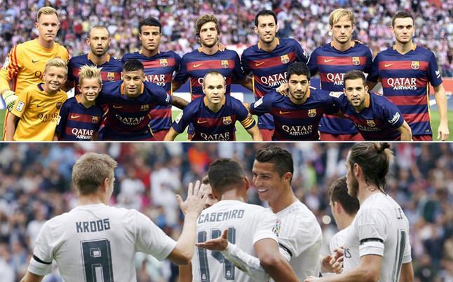 Cu nto cobran los jugadores de fc barcelona y real madrid - Tarimas del mundo madrid ...
