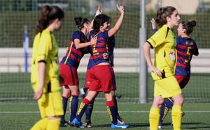 El Barça femenino ganó su partido