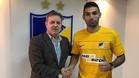 David Barral ha posado con su nueva camiseta, la del APOEL