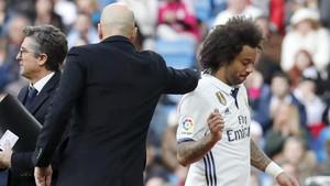 Marcelo y Modric se perderán el próximo mes de competición
