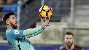 Messi negocia su renovación