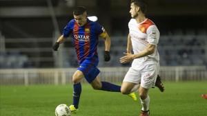 Sergi Palencia, capitán y titular indiscutible con Gerard