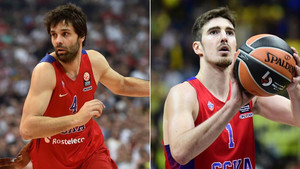 Teodosic y De Colo son los líderes indiscutibles del CSKA Moscú