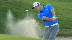 Jon Rahm durante su duelo frente a Kevin Chappell