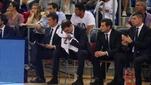 Bartzokas vivió una nueva pesadilla con su Barça Lassa en Valencia