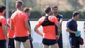 Gerard López se ha ganado el afecto del vestuario del Barça B