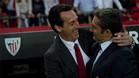 Emery y Valverde, en una imagen de archivo